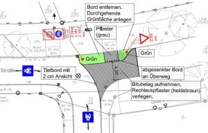 Planung Burgdorf Fahrradstraße