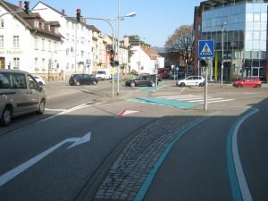 Knotenpunkt Offenburg Hauptstraße Kronenstraße 2011