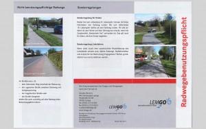 Leistungsspektrum – Beratung und Information - Flyer Lemgo